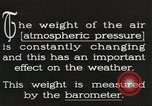 Image of barometer United States USA, 1931, second 3 stock footage video 65675058554