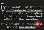 Image of barometer United States USA, 1931, second 5 stock footage video 65675058554