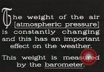Image of barometer United States USA, 1931, second 7 stock footage video 65675058554