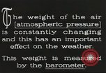 Image of barometer United States USA, 1931, second 8 stock footage video 65675058554