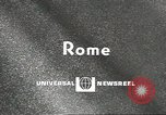 Image of Pope Paul VI Vatican City Rome Italy, 1967, second 4 stock footage video 65675058584