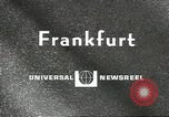 Image of Daniel Van Rijckeghem Frankfurt Germany, 1967, second 5 stock footage video 65675058604