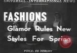 Image of fashion show Greece, 1950, second 1 stock footage video 65675058615