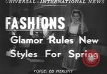 Image of fashion show Greece, 1950, second 3 stock footage video 65675058615