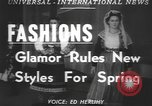 Image of fashion show Greece, 1950, second 4 stock footage video 65675058615