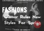 Image of fashion show Greece, 1950, second 6 stock footage video 65675058615