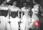 Image of corset New York United States USA, 1950, second 1 stock footage video 65675058616