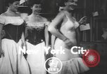 Image of corset New York United States USA, 1950, second 3 stock footage video 65675058616