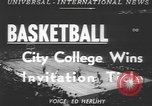 Image of basketball game New York United States USA, 1950, second 5 stock footage video 65675058618