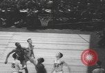 Image of basketball game New York United States USA, 1950, second 10 stock footage video 65675058618