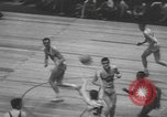 Image of basketball game New York United States USA, 1950, second 12 stock footage video 65675058618