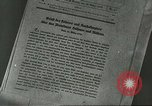 Image of Nazi expansion Nuremberg Germany, 1946, second 2 stock footage video 65675058657