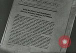 Image of Nazi expansion Nuremberg Germany, 1946, second 3 stock footage video 65675058657