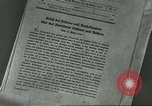 Image of Nazi expansion Nuremberg Germany, 1946, second 5 stock footage video 65675058657