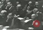 Image of Nazi leaders Nuremberg Germany, 1946, second 3 stock footage video 65675058669