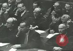 Image of Nazi leaders Nuremberg Germany, 1946, second 4 stock footage video 65675058669