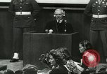 Image of Nazi leaders Nuremberg Germany, 1946, second 2 stock footage video 65675058670