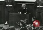 Image of Nazi leaders Nuremberg Germany, 1946, second 3 stock footage video 65675058670