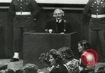 Image of Nazi leaders Nuremberg Germany, 1946, second 4 stock footage video 65675058670