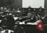 Image of Nazi leaders Nuremberg Germany, 1946, second 8 stock footage video 65675058670