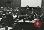 Image of Nazi leaders Nuremberg Germany, 1946, second 9 stock footage video 65675058670