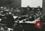 Image of Nazi leaders Nuremberg Germany, 1946, second 10 stock footage video 65675058670