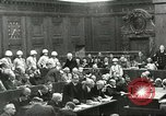 Image of Nuremberg trial concludes Nuremberg Germany, 1946, second 1 stock footage video 65675058673