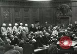 Image of Nuremberg trial concludes Nuremberg Germany, 1946, second 2 stock footage video 65675058673