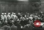 Image of Nuremberg trial concludes Nuremberg Germany, 1946, second 3 stock footage video 65675058673