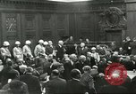 Image of Nuremberg trial concludes Nuremberg Germany, 1946, second 4 stock footage video 65675058673