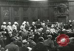 Image of Nuremberg trial concludes Nuremberg Germany, 1946, second 5 stock footage video 65675058673