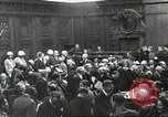Image of Nuremberg trial concludes Nuremberg Germany, 1946, second 9 stock footage video 65675058673