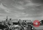Image of damaged aircraft North Africa, 1943, second 3 stock footage video 65675058679