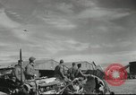 Image of damaged aircraft North Africa, 1943, second 4 stock footage video 65675058679