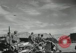 Image of damaged aircraft North Africa, 1943, second 5 stock footage video 65675058679