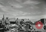 Image of damaged aircraft North Africa, 1943, second 7 stock footage video 65675058679