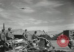 Image of damaged aircraft North Africa, 1943, second 8 stock footage video 65675058679