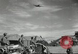 Image of damaged aircraft North Africa, 1943, second 10 stock footage video 65675058679