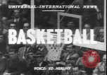 Image of basketball game between City College and BYU New York United States USA, 1950, second 3 stock footage video 65675058712