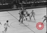 Image of basketball game between City College and BYU New York United States USA, 1950, second 6 stock footage video 65675058712