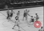 Image of basketball game between City College and BYU New York United States USA, 1950, second 7 stock footage video 65675058712
