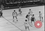 Image of basketball game between City College and BYU New York United States USA, 1950, second 8 stock footage video 65675058712