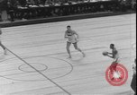 Image of basketball game between City College and BYU New York United States USA, 1950, second 10 stock footage video 65675058712