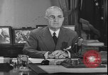 Image of Harry S Truman Washington DC USA, 1950, second 9 stock footage video 65675058715