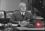 Image of Harry S Truman Washington DC USA, 1950, second 10 stock footage video 65675058715