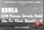 Image of United States 1st Marine Division Korea, 1950, second 2 stock footage video 65675058718