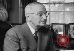 Image of President Truman dismissing General MacArthur Washington DC USA, 1951, second 7 stock footage video 65675058721