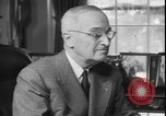 Image of President Truman dismissing General MacArthur Washington DC USA, 1951, second 9 stock footage video 65675058721