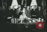 Image of Franklin Roosevelt Washington DC USA, 1944, second 11 stock footage video 65675058764