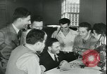 Image of war veterans United States USA, 1946, second 10 stock footage video 65675058770
